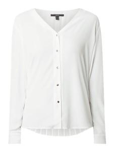 Koszula Esprit z długim rękawem z dekoltem w kształcie litery v