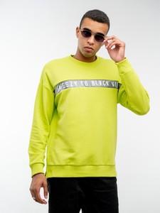 Zielona bluza BREEZY z dzianiny