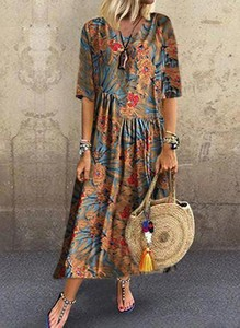 Sukienka Cikelly z dekoltem w kształcie litery v