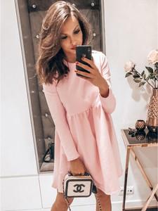 Sukienka magmac.pl w stylu casual z długim rękawem