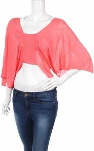 Różowy sweter Numph w stylu casual
