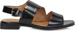 Czarne sandały Kazar