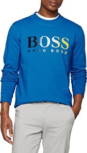 Niebieska bluza BOSS Casual