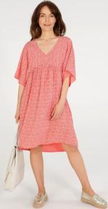 Sukienka Unisono mini z krótkim rękawem