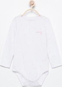 Body niemowlęce Reserved z bawełny dla dziewczynek