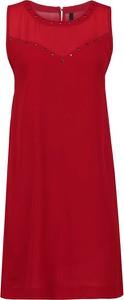 Sukienka Pepe Jeans midi z okrągłym dekoltem