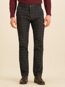 Czarne spodnie Bugatti