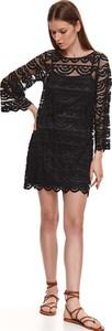 Sukienka Top Secret z okrągłym dekoltem z dzianiny mini