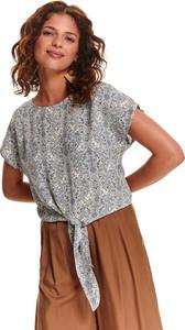 Bluzka Top Secret z krótkim rękawem w stylu casual