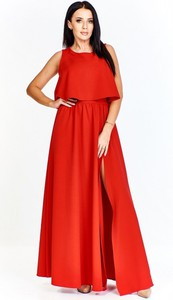 Sukienka Keyla z dekoltem w kształcie litery v maxi