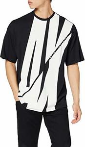 T-shirt amazon.de z nadrukiem z dżerseju z krótkim rękawem