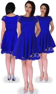 Sukienka Camill Fashion dla puszystych z tkaniny