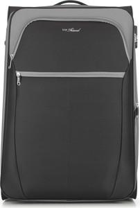 Czarna walizka Wittchen
