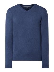 Granatowy sweter Christian Berg Men z kaszmiru