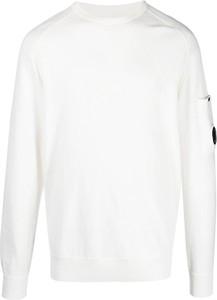 Sweter C.P. Company z okrągłym dekoltem z wełny w stylu casual