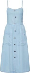 Niebieska sukienka Only mini