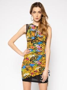 Sukienka Versace Jeans mini bez rękawów