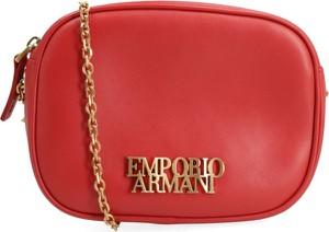 106ab7f9c46c7 Czerwone torebki Emporio Armani, kolekcja wiosna 2019