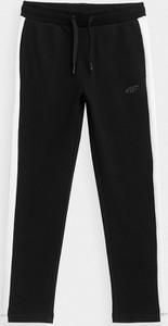 Czarne spodnie dziecięce 4F