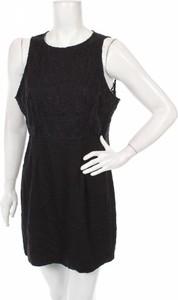 Czarna sukienka Miss Shop w stylu casual