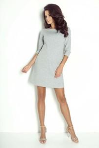 Sukienka Ivon mini z bawełny trapezowa