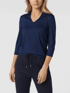 Granatowa bluzka Christian Berg Women w stylu casual