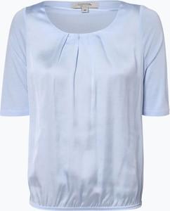 T-shirt comma, z tkaniny z okrągłym dekoltem