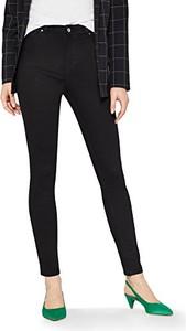Czarne jeansy Find w street stylu