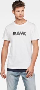 T-shirt G-Star Raw z krótkim rękawem z dzianiny