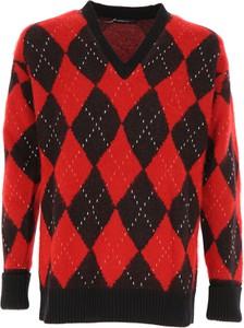 Sweter Alexander McQueen w geometryczne wzory