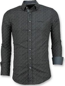 Czarna koszula TONY BACKER