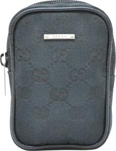 Niebieska torebka Gucci na ramię
