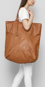 Brązowa torebka Freeshion duża na ramię