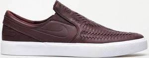 Buty Nike SB Zoom Janoski Slip Rm Crafted (mahogany/mahogany white gum light brown)