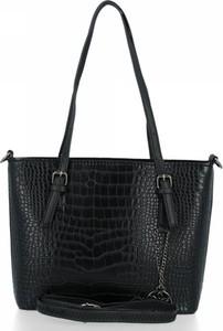Torebka Bee Bag na ramię ze skóry w stylu glamour