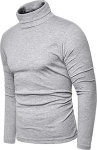 Szara bluza risardi bez wzorów