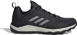 Czarne buty trekkingowe Adidas sznurowane
