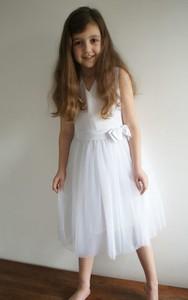 Sukienka dziewczęca LeMika z tiulu