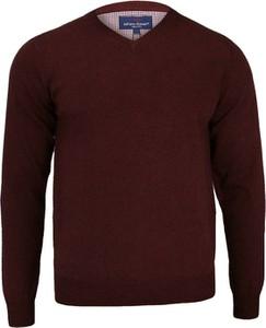 Czerwony sweter Adriano Guinari