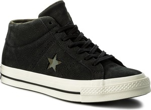 Sneakersy converse - one star mid 159747c black/gret/herbal