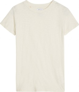 T-shirt Zoe Karssen z krótkim rękawem w stylu casual z okrągłym dekoltem