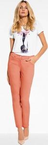 Pomarańczowe jeansy l'af