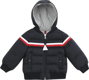 Czarna kurtka dziecięca Moncler