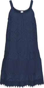 Niebieska sukienka bonprix BODYFLIRT mini