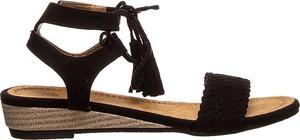 Sandały Foreverfolie ze skóry