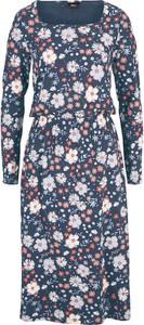 Sukienka bonprix midi w stylu casual z bawełny