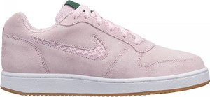 Różowe trampki Nike sznurowane