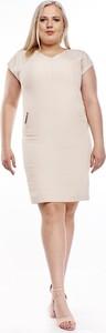 Sukienka Fokus z krótkim rękawem