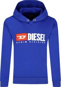 Niebieska bluza dziecięca Diesel