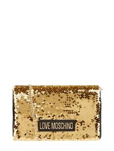 Żółta torebka Love Moschino na ramię